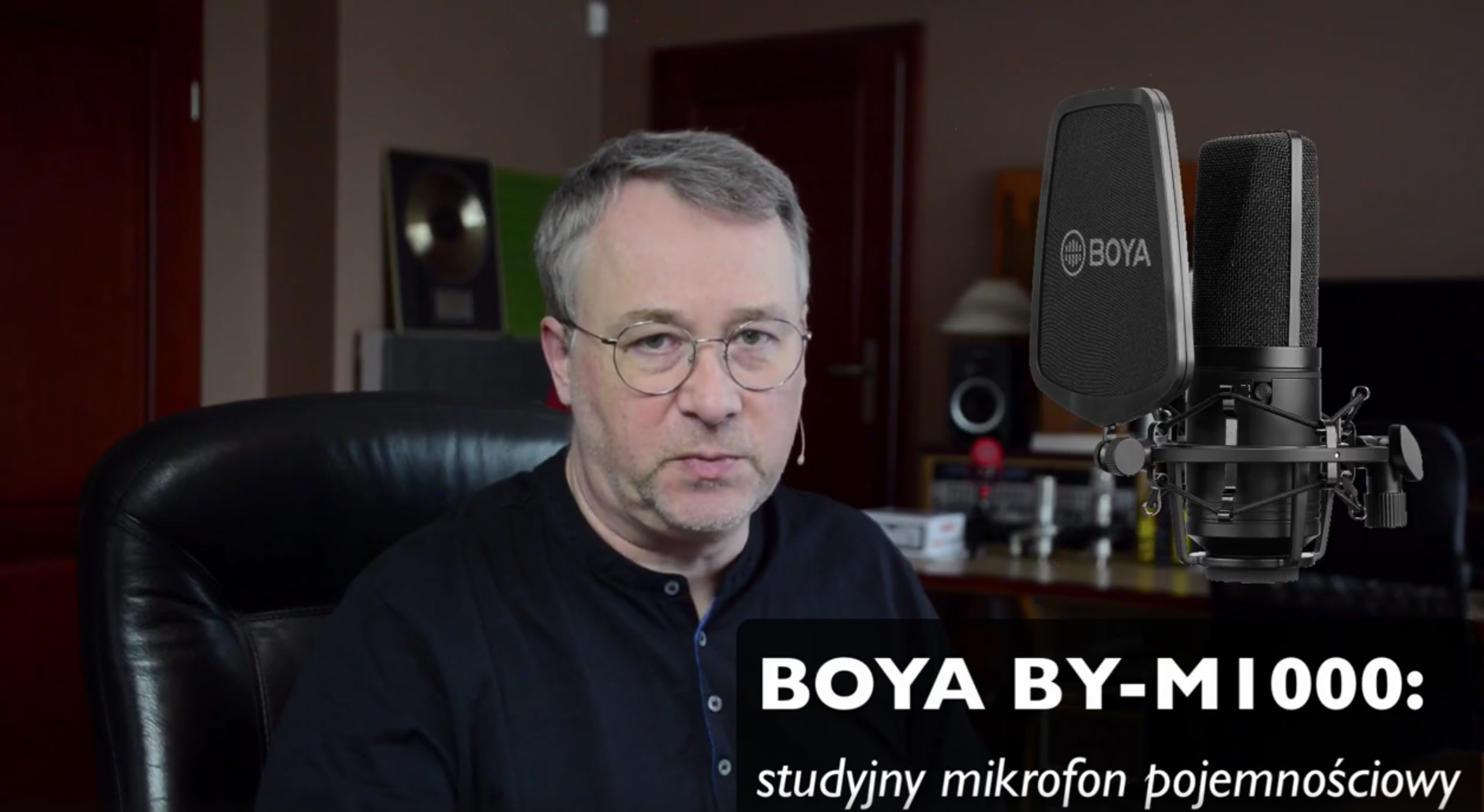 BOYA BY-M1000- test VIDEO